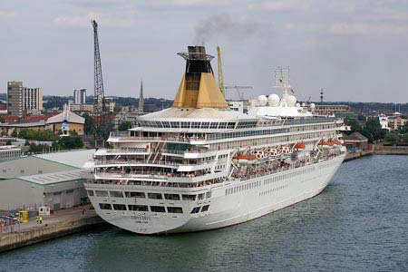 Cruise Liner at Southampton